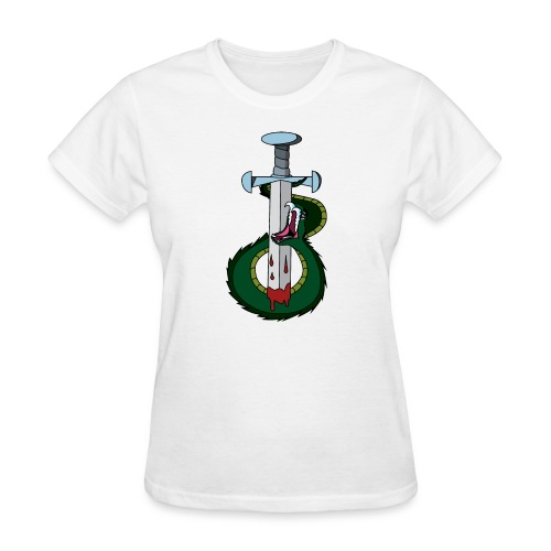 Snake and the sword - Women's T-Shirt