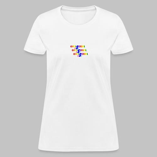 Chrisexual Trisexual - Women's T-Shirt