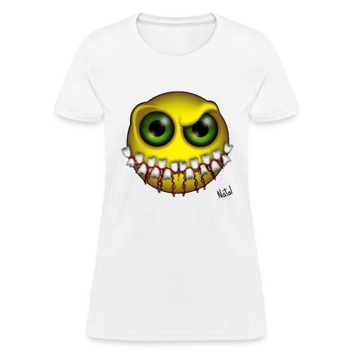 Smilez (Silly Facez) - Women's T-Shirt