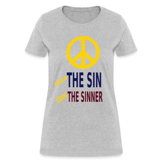 Hate the Sin Love the Sinner