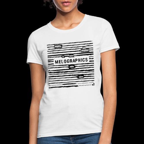 MELOGRAPHICS | Blackout Poem - Women's T-Shirt