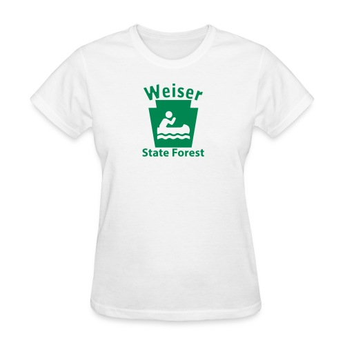 Weiser State Forest Boating Keystone PA - Women's T-Shirt