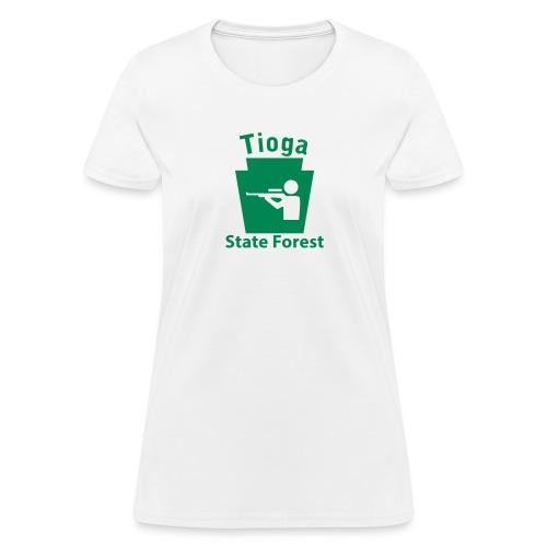 Tioga State Forest Hunting Keystone PA - Women's T-Shirt