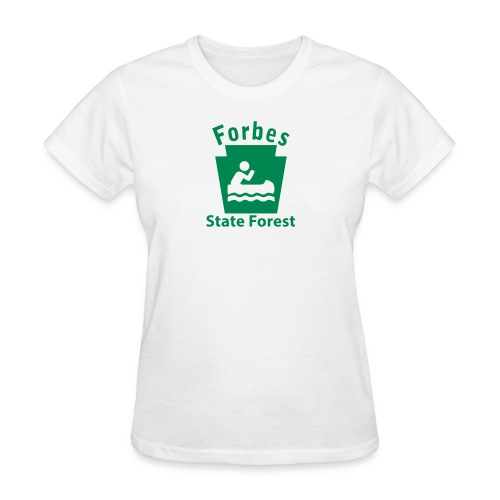 Forbes State Forest Boating Keystone PA - Women's T-Shirt