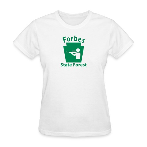 Forbes State Forest Hunting Keystone PA - Women's T-Shirt