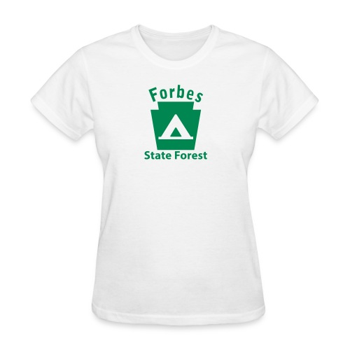 Forbes State Forest Camping Keystone PA - Women's T-Shirt