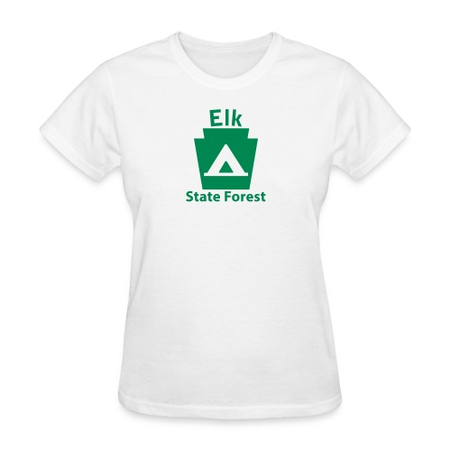 Elk State Forest Camping Keystone PA - Women's T-Shirt