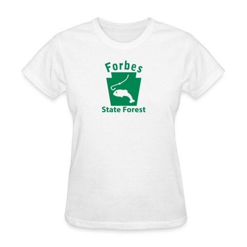 Forbes State Forest Fishing Keystone PA - Women's T-Shirt