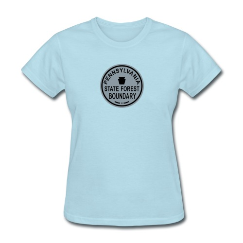 PA State Forest Boundary - Women's T-Shirt
