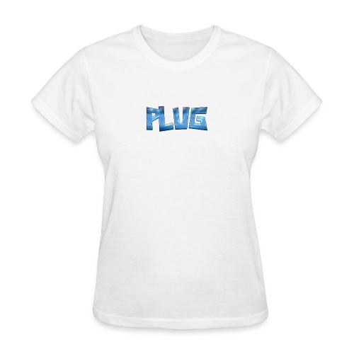 Cool Text PLUG 321607890516880 - Women's T-Shirt