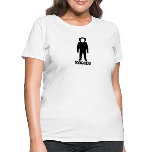 100GODS black logo - Women's T-Shirt