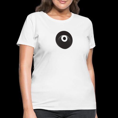 Black Dirt Vortex Logo Dark - Women's T-Shirt