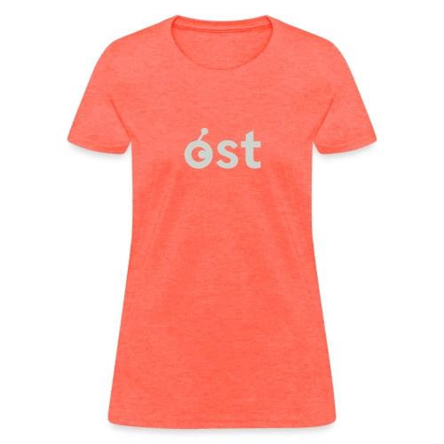 ost logo in grey - Women's T-Shirt