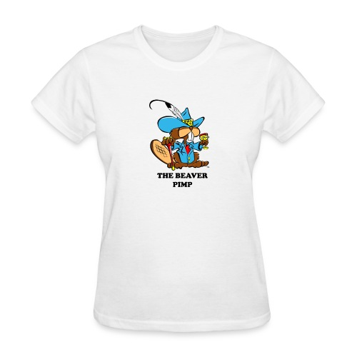 Beaver Pimp - Women's T-Shirt