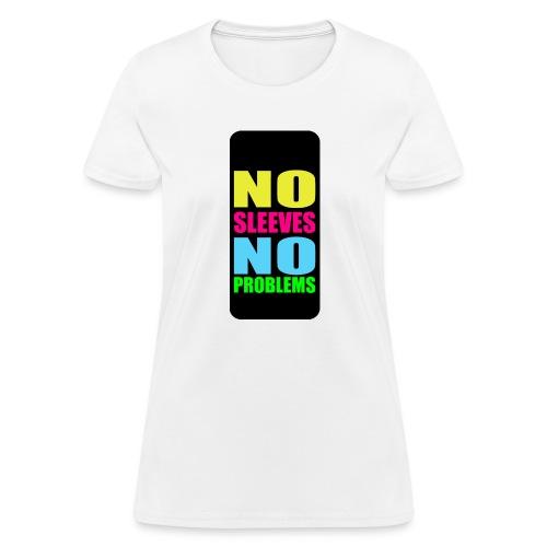 neonnosleevesiphone5 - Women's T-Shirt
