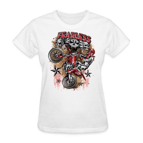 Fearless Motocross Honda - Women's T-Shirt
