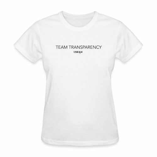 Team Transparency skinny - Women's T-Shirt