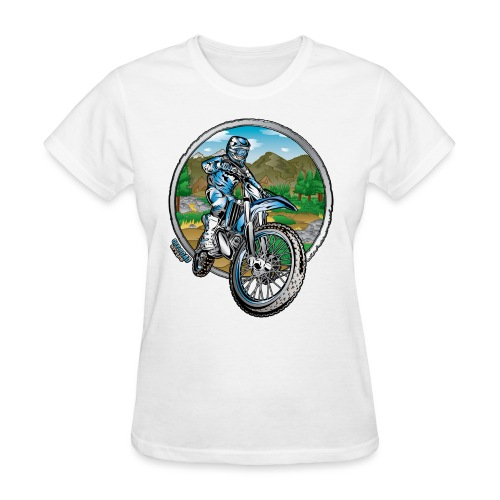 Supercross Motocross Shirt - Women's T-Shirt
