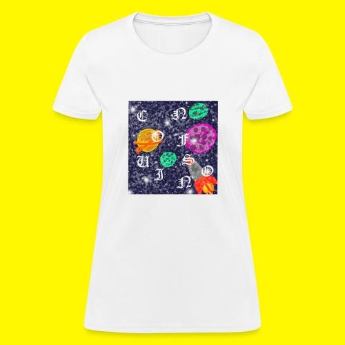 confusion galaxy - Women's T-Shirt