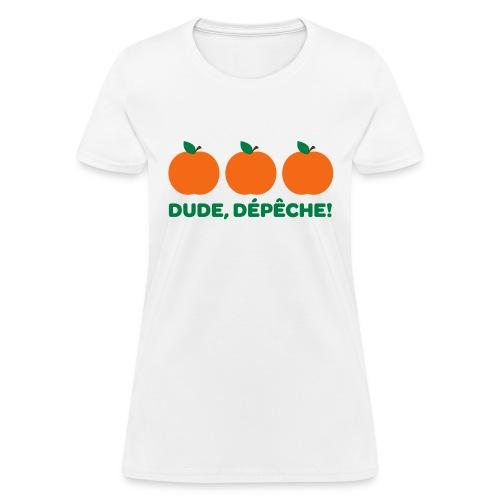 Des pêches! - Women's T-Shirt