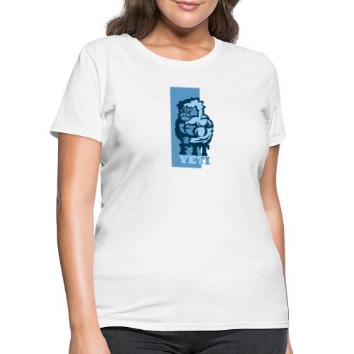 Fit Yeti - Women's T-Shirt