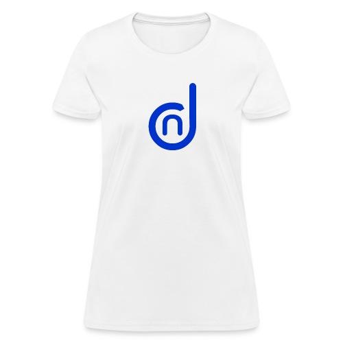 DCN (Direct Cannabis Network Logo -Blue) - Women's T-Shirt