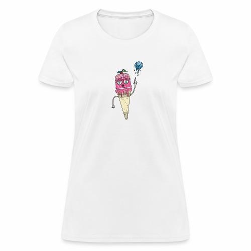Crème glacée en danger - Women's T-Shirt
