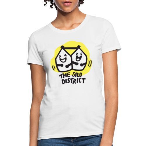 The Silo District Comedy Club Logo - Women's T-Shirt