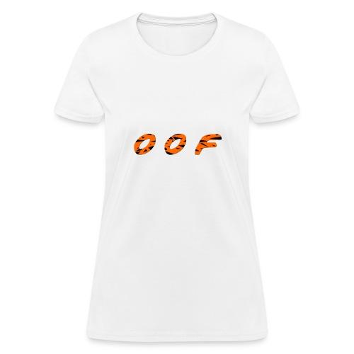 oof [tiger] - Women's T-Shirt