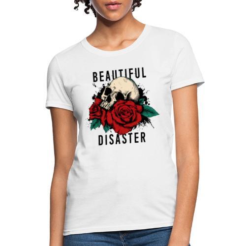 skull roses - Women's T-Shirt