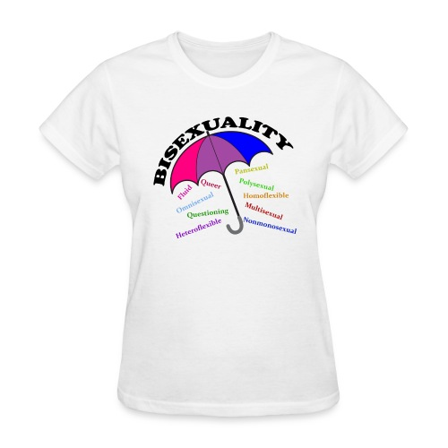 Bi+ Umbrella - Women's T-Shirt