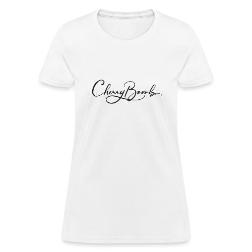 Cherry Bomb Black - Women's T-Shirt