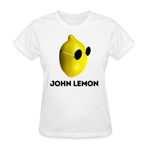 JohnLemon Print3 png - Women's T-Shirt