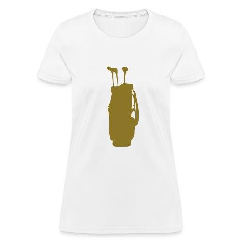 golf bag - Women's T-Shirt