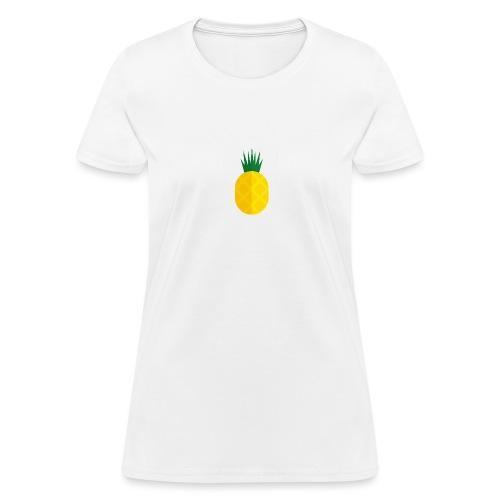 Pixel looking Pineapple - Women's T-Shirt