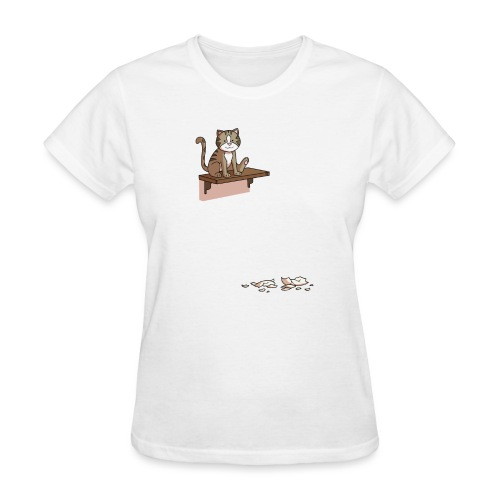 Troll cat - Women's T-Shirt