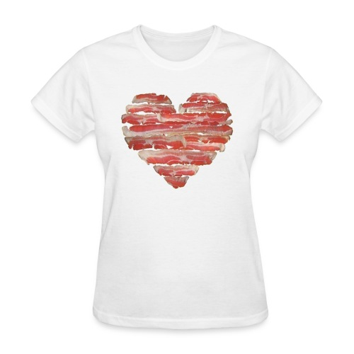 BACON = LOVE - Women's T-Shirt