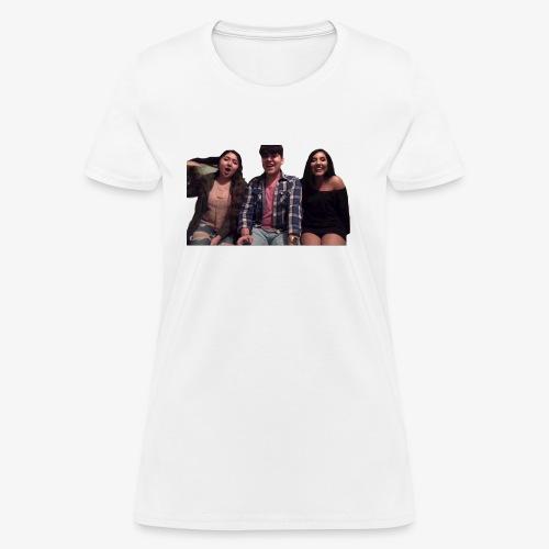 Fido, Cindy, and Tania - Women's T-Shirt