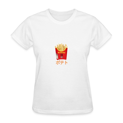 Cheeky Fries - Women's T-Shirt