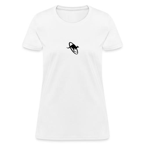 Black on White - Women's T-Shirt