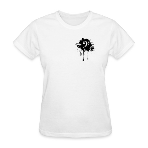 Front Black original - Women's T-Shirt
