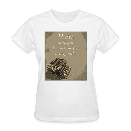 Writer's Advice - Part 5 - Women's T-Shirt