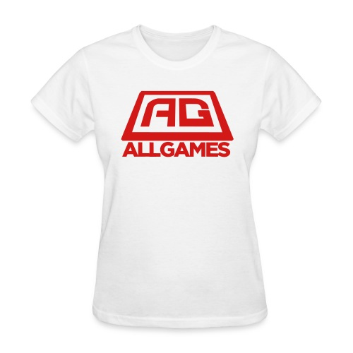 AG Logo Text Vector - Women's T-Shirt