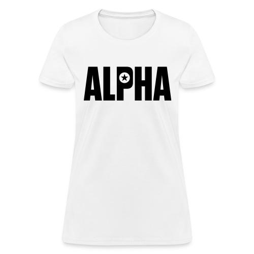 ALPHA - Women's T-Shirt