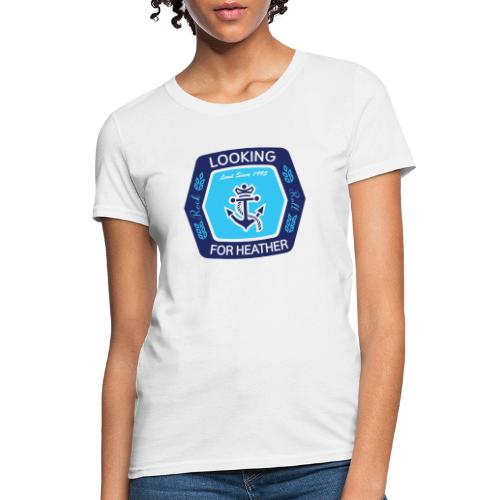 Looking For Heather Stock Logo - Women's T-Shirt