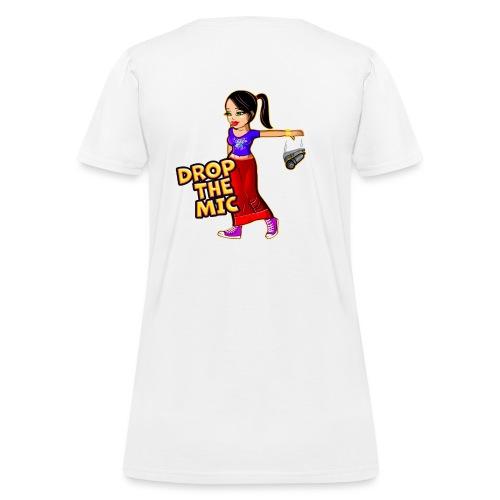 Drop the Mic - Women's T-Shirt