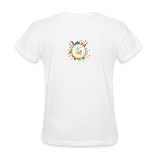 logo welovetravel - Women's T-Shirt