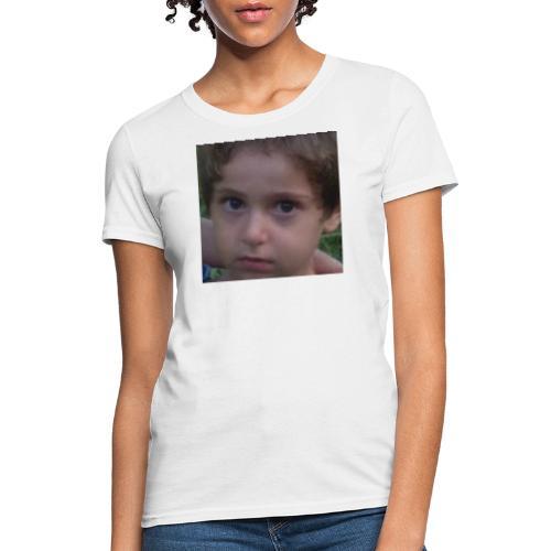VERY RARE CONCERNED BABI NILA AND PLAYING GUITAR - Women's T-Shirt