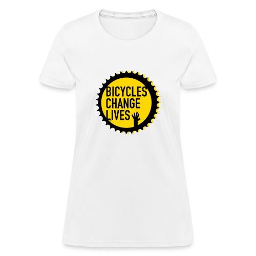 BCL Yellow Cog - Women's T-Shirt