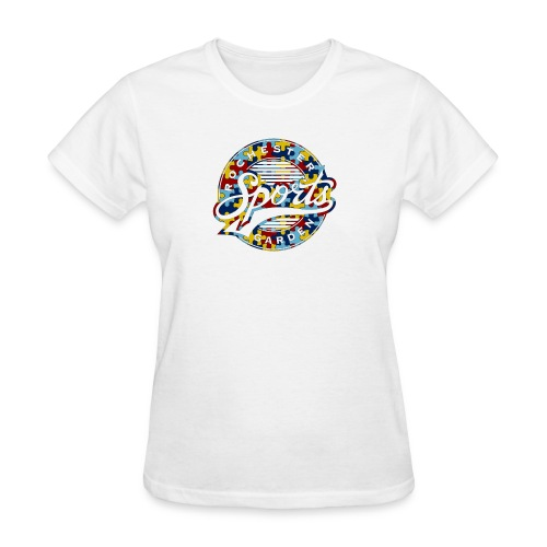EVERYONE CAN DO IT AT THE GARDEN WHITE - Women's T-Shirt